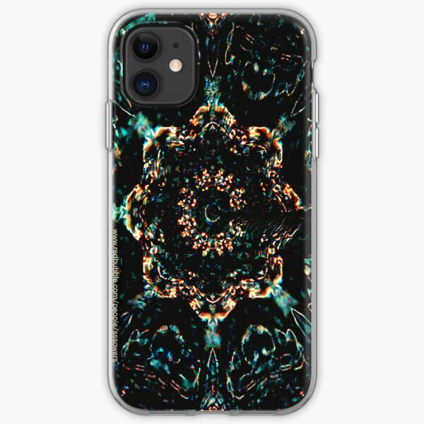 Cosmic Stained Glass iPhone Soft Case