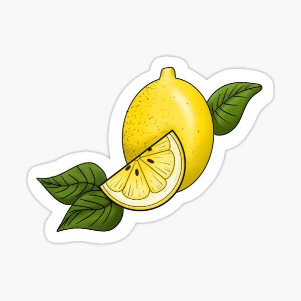 Zesty lemon  Sticker