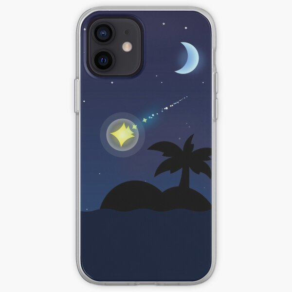 Animal Crossing New Horizons Night Sky - Shooting Star Inspired Design iPhone Soft Case