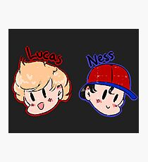 Ness and Lucas! Photographic Print
