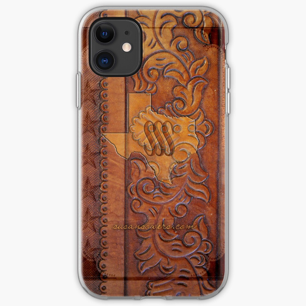 Texas Leather iPhone Case & Cover