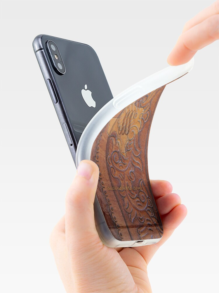 Alternate view of Texas Leather iPhone Case & Cover