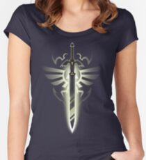 Master Sword solo Women's Fitted Scoop T-Shirt