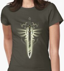Master Sword solo Women's Fitted T-Shirt