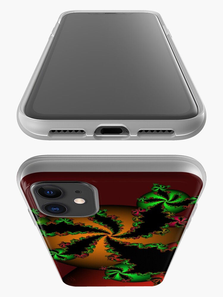 Alternate view of Jingle Bells Fractal iPhone Case & Cover