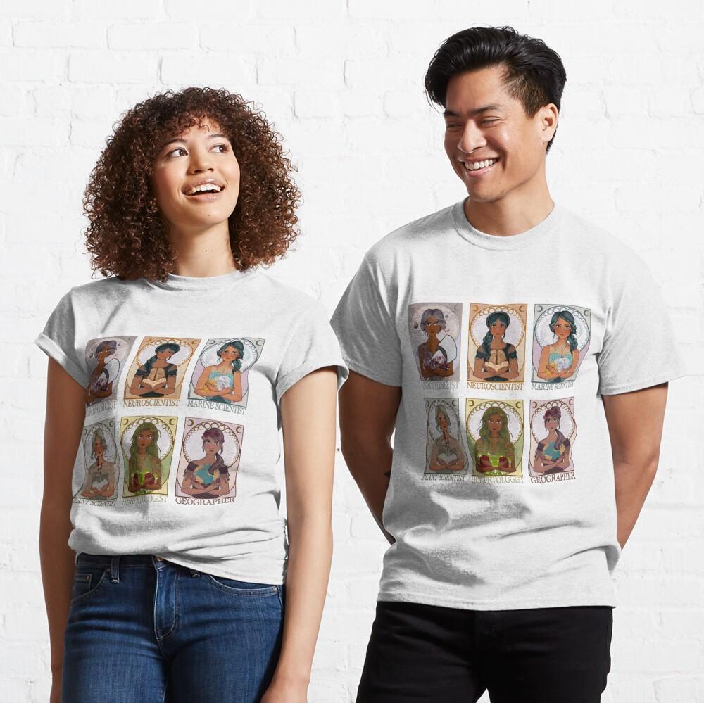 Women in Sciences (Art Nouveau) Classic T-Shirt