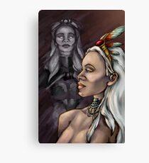 Queen of Wakanda Canvas Print
