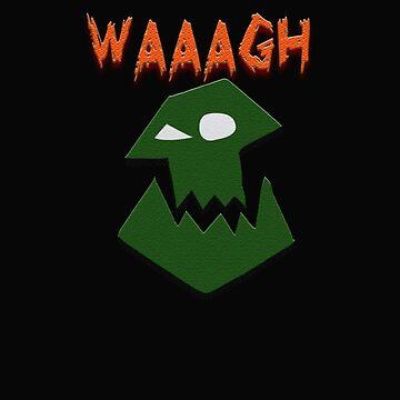 Ork Attack WAAAGH! by LostKittenClub
