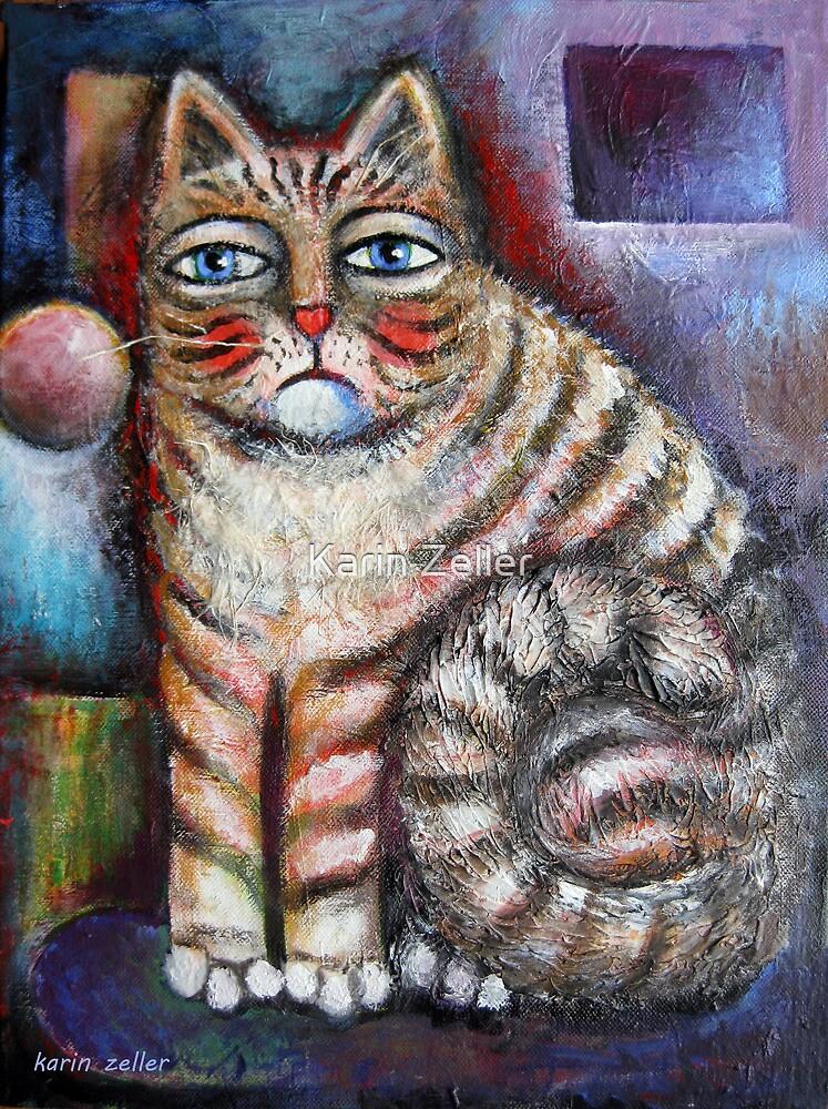 Lovely kitty by Karin Zeller