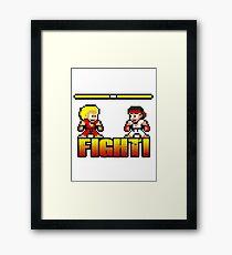 'FIGHT!' Framed Print