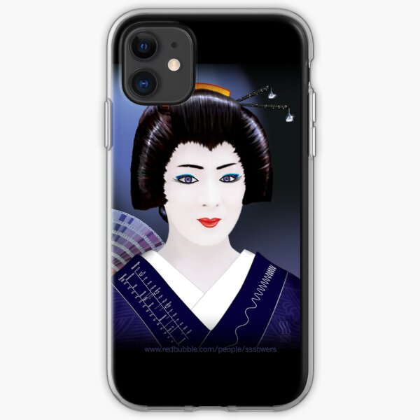 Geisha Color iPhone Soft Case