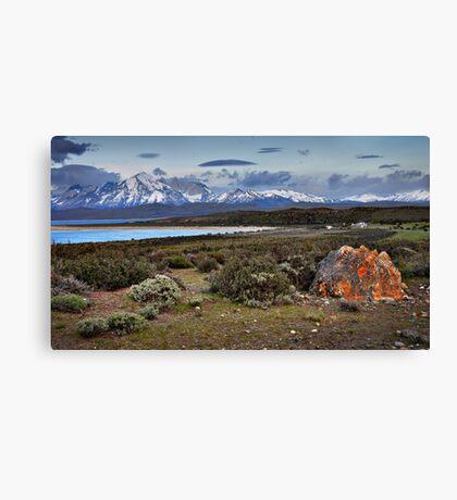 Torres Del Paine Canvas Print