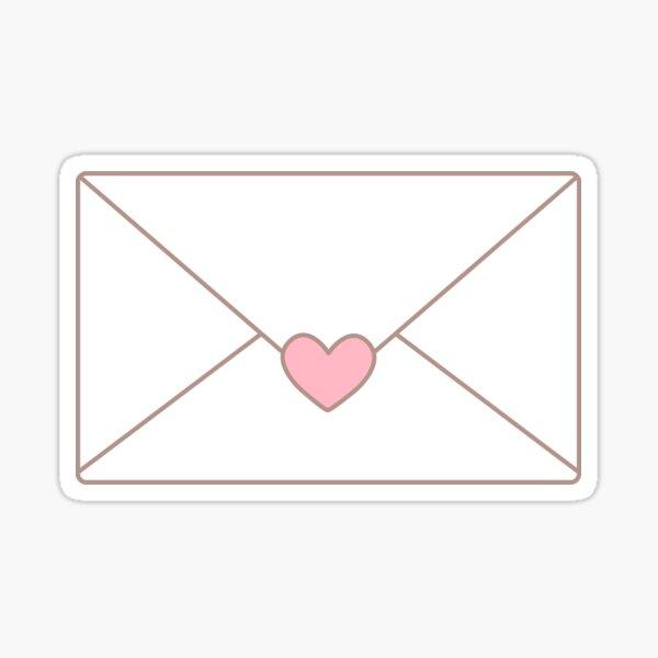 Secret Letter Sticker