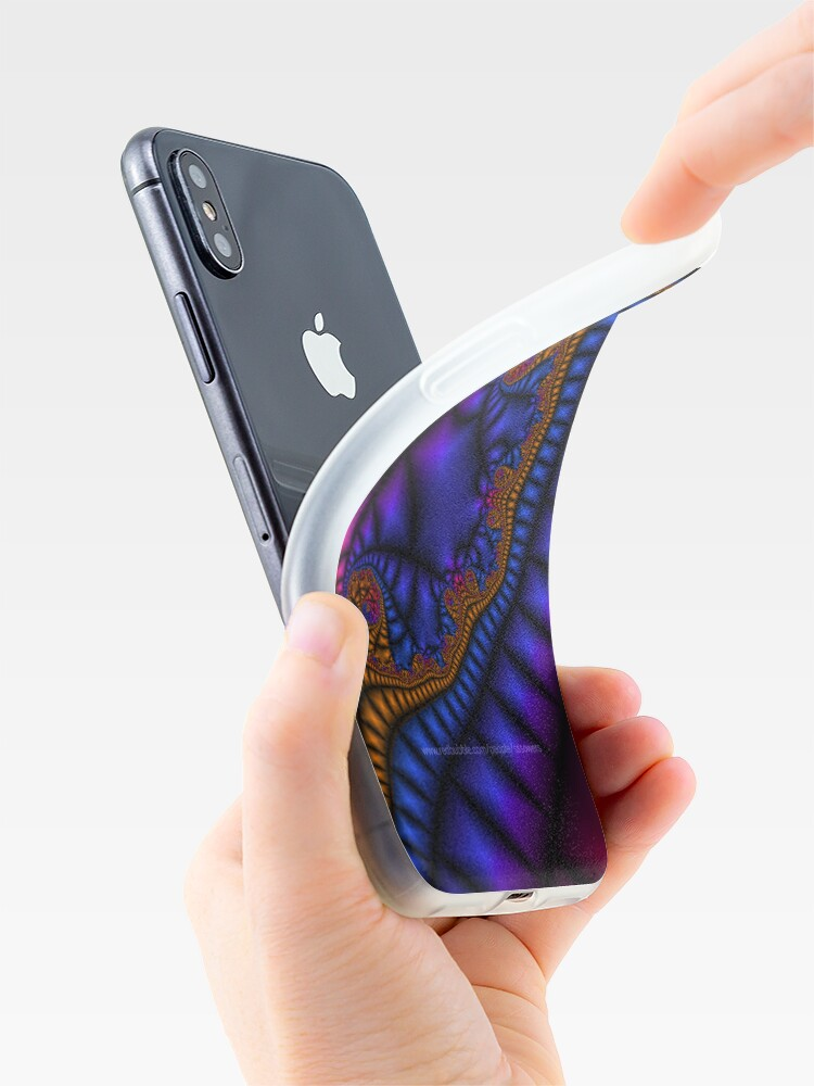 Alternate view of Jeweled Ribbon 1 iPhone Case & Cover