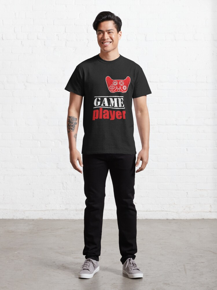 Alternate view of Game player Classic T-Shirt