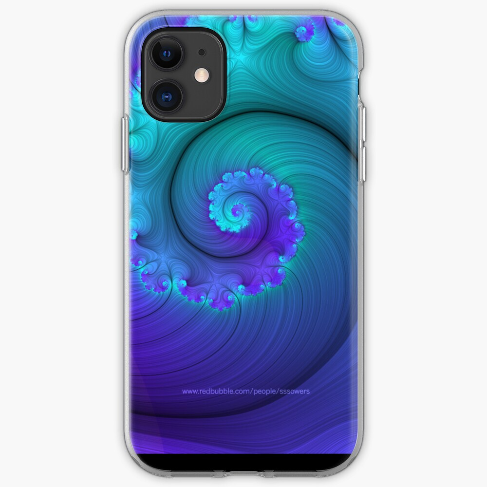 Designed & manipulated fractal iPhone Case & Cover
