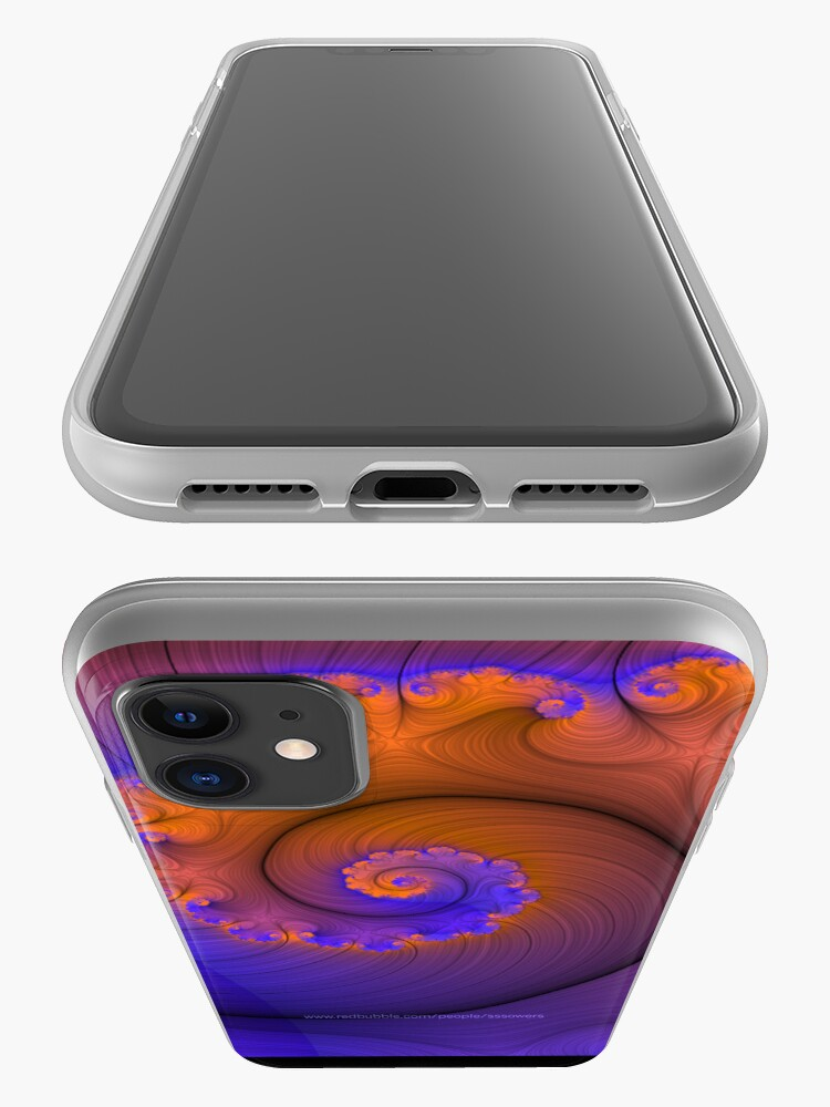 Alternate view of Frilled Nautilus 2 iPhone Case & Cover