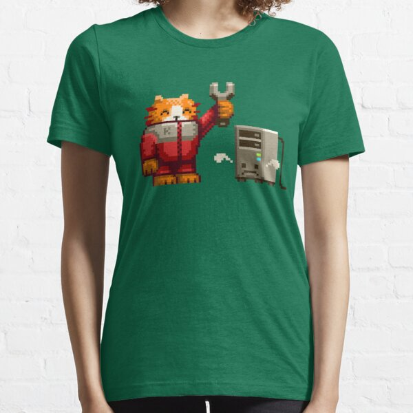 Naughty Computer - no text version Essential T-Shirt
