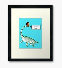 Loch Ness Mobster Framed Print