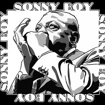 Sonny Boy Williamson by brandonrankin
