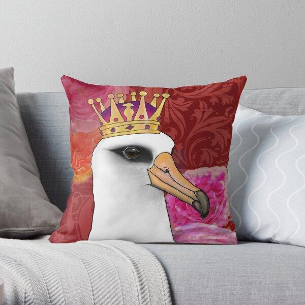 Laysan Albatross Throw Pillow