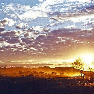 Outback Sunset by GeorgeP
