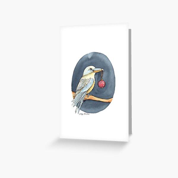 Christmas Kookaburra Greeting Card