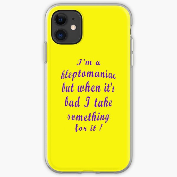 Kleptomaniac  [iPhone Case] iPhone Soft Case
