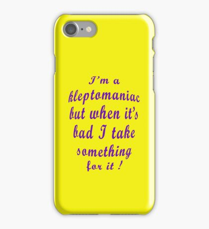 Kleptomaniac  [iPhone Case] iPhone Case/Skin