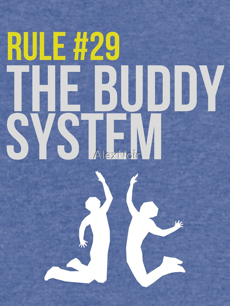 Zombieland Survival Guide - Rule #29 - The Buddy System von AlexNoir