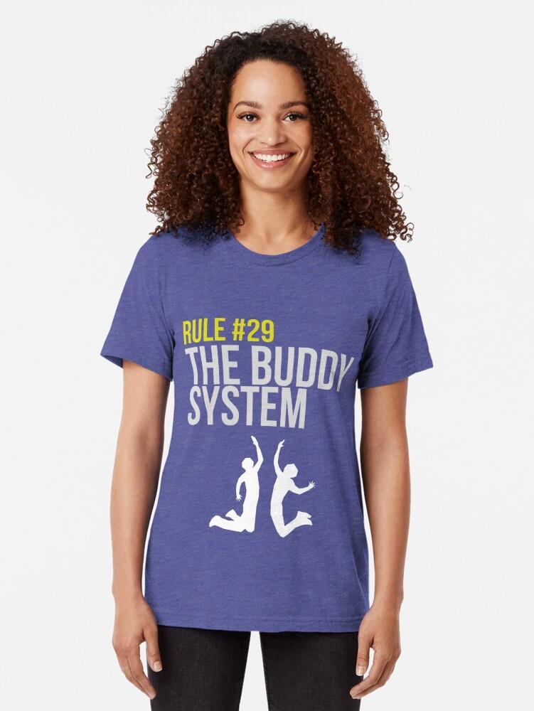 Alternative Ansicht von Zombieland Survival Guide - Rule #29 - The Buddy System Vintage T-Shirt