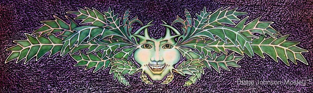 Tim's Greenman by Diane Johnson-Mosley