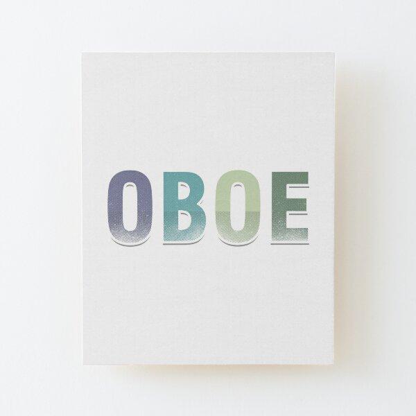 OBOE PERSONALISED POCKET LOGO T SHIRT MUSCIAL INSTRUMENT