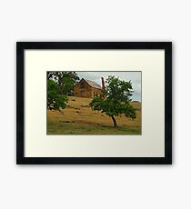 Stone Cottage Framed Print