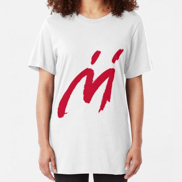 M Graffiti  Slim Fit T-Shirt
