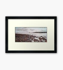 Whiteford lighthouse North Gower Framed Print