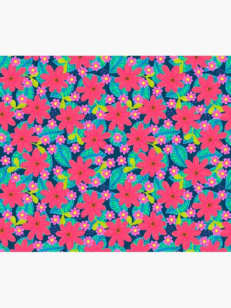 Blumen Mix Muster von RanitasArt