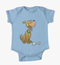 Cartoon dog with bone One Piece - Short Sleeve