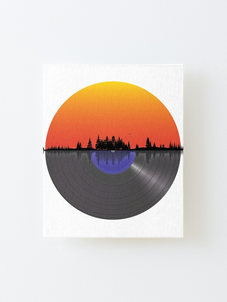 Alternate view of Sound of nature LP Mounted Print