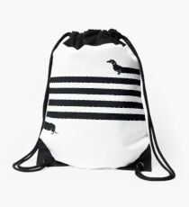 (Very) Long Dog Drawstring Bag