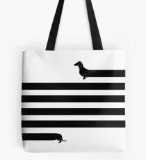 (Sehr) Langer Hund Tote Bag