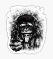 CHIMP GUEVARA Sticker
