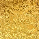 Golden Tones Abstract Bubble Glitter texture by artonwear