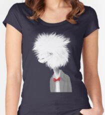 Llama Who? Women's Fitted Scoop T-Shirt