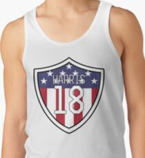 Ashlyn Harris # 18 | USWNT Tanktop für Männer