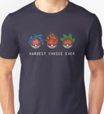 Hard Choices Unisex T-Shirt