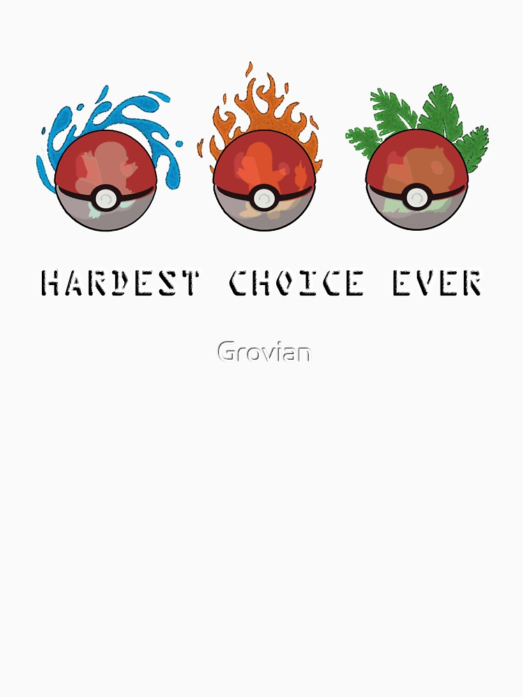 Hard Choices by Grovian