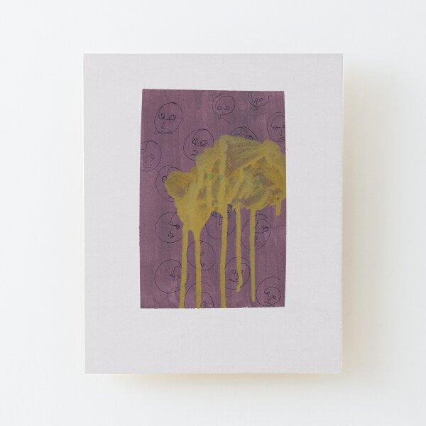 Always lost/ Always looking Wood Mounted Print