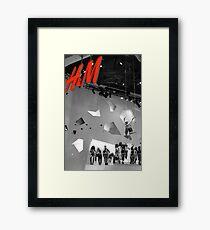 H & M Framed Print