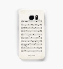 Black Birds Samsung Galaxy Case/Skin